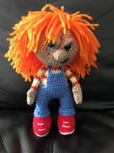 Chucky doll photo review