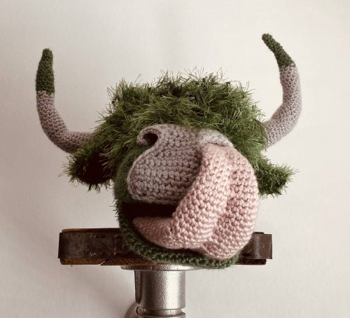 Highland Cow Amigurumi Crochet Pattern Review by Kate for Cottontail and Whiskers